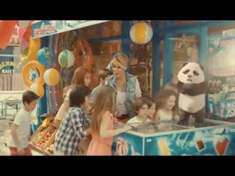 Gülben Ergen Panda reklamı 2013