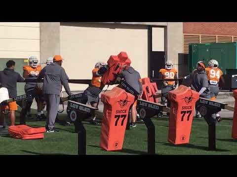 Tennessee football practice highlights Oct 16