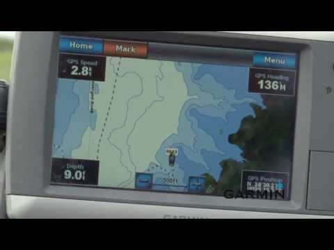 Using Your Garmin Units to Store Structure Waypoints in Low Lake Levels