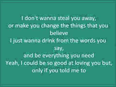 Hunter Hayes - If You Told Me Too (Lyrics)