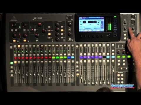 full download behringer x32 digital mixing console from all pro sound. Black Bedroom Furniture Sets. Home Design Ideas