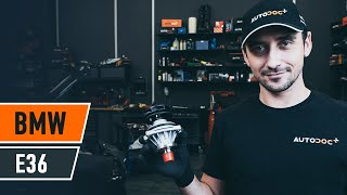 How to replace Cabin filter on MINI MINI (R50, R53) - video tutorial