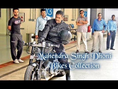 Mahendra Singh Dhoni Bikes and Cars Collection