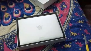 Unboxing Apple MacBook Air i5 5th Gen