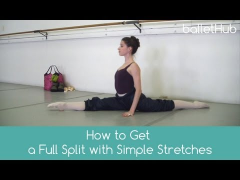 stretches for beginning ballet  daily stretching routi