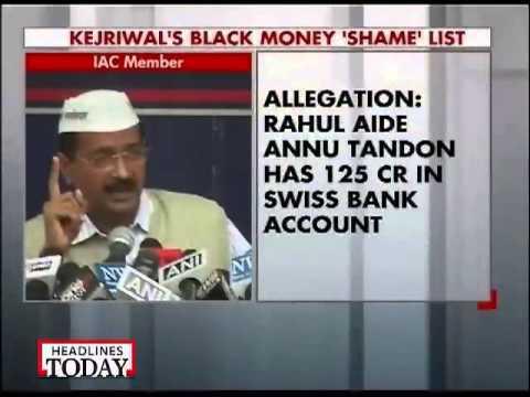 Arvind Kejriwal exposes Swiss bank account holders-1