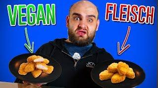 Vegan/Vegetarisch vs. Fleisch - Der blinde Test #2