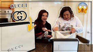 SURPRISING HER WITH HER DREAM GUCCI GIFT!!