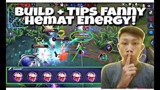 RAHASIA FANNY! Supaya Hemat Energy + Build Fanny Hemat Energy! - Tips Fanny Gameplay