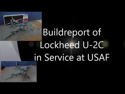 Build Report Lockheed U2-C Scale 1:48 Italeri Kit Nr 808 by Chrizlys Modellbau Werkstatt