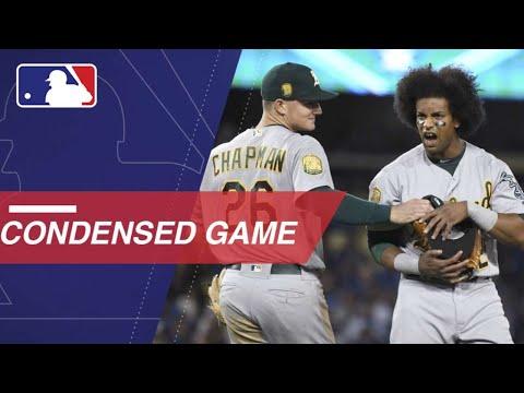 Condensed Game: OAK@LAD - 4/11/18