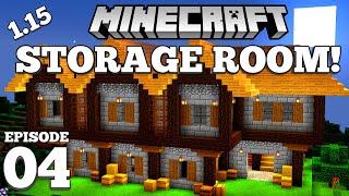 minecraft storage medieval play