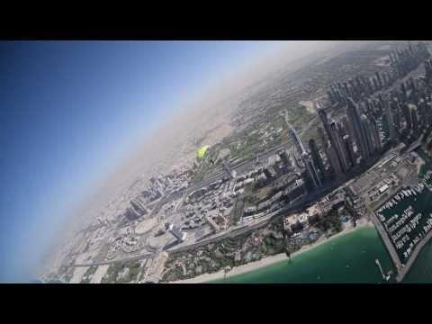 A Skydive Photographer in Dubai