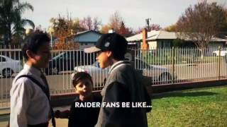 Raider Fans Be Like when They See the 49ers