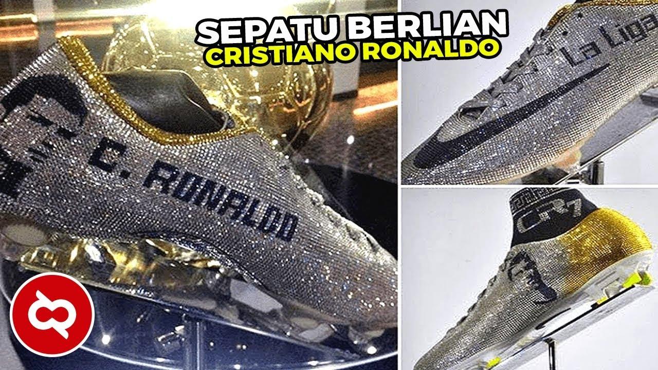 Inilah Sepatu Pemain Sepak Bola Dunia Limited Edition Dengan Harga Milyaran