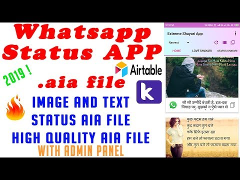 How to Download whatsapp status app aia file free - Myhiton