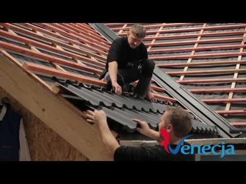 Montarea țiglei Metalice Veneția / Acoperiș Perfect