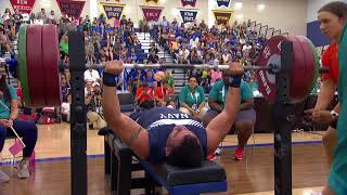 Highlights Powerlifting Competition Warrior Games 2018