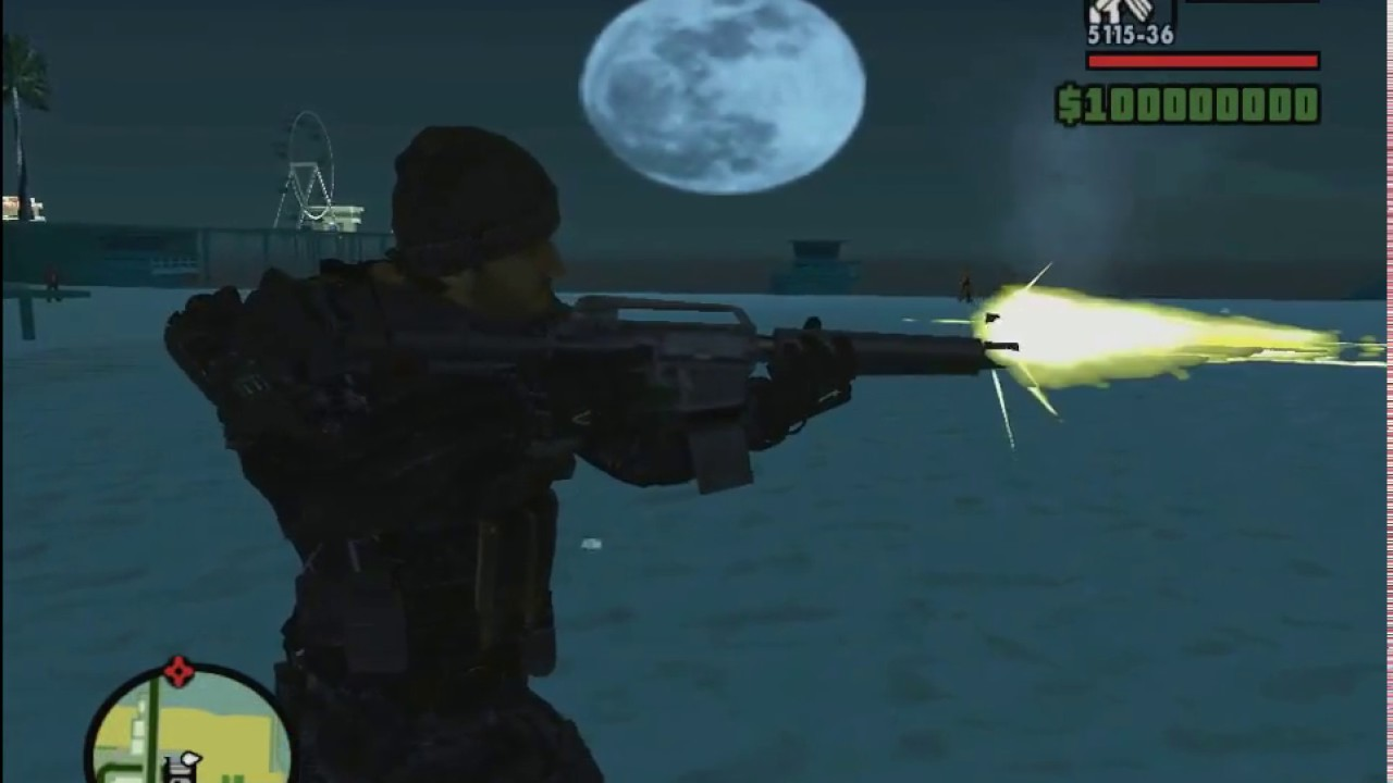 Call of Duty: Advanced Warfare gideon скин для gta sa ...