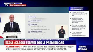 Jean-Michel Blanquer annonce le maintien des épreuves terminales du Brevet et du Bac