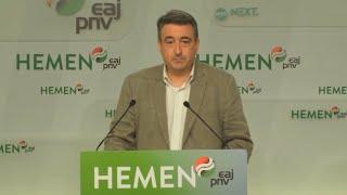 """El PNV subraya """"la velocidad"""" del acuerdo de PSOE y Podemos"""