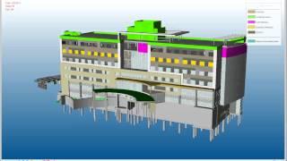 Hoar Construction BIM - Lakeway Construction 4D