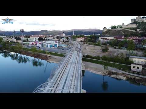 #17 Výstavba železničného mosta v Trenčíne 4/2017
