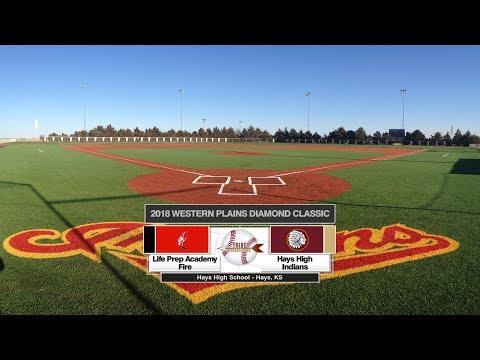 Life Preparatory Academy vs. Hays | 2018 Western Plains Diamond Classic