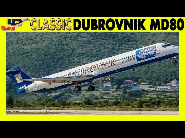 Piloting DUBROVNIK Douglas MD80 (2008) | Cockpit Views