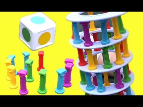 Челлендж СУПЕР БАШНЯ - Веселая развивающая игра для все семьи Играем с семьёй  от Family Box