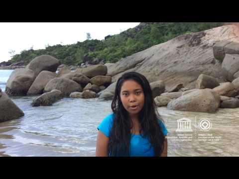 Wahida #MyOceanPledge Aldabra Atoll World Heritage marine site