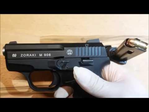 Zoraki 906 / 380. Auto / 9x17mm / Pocket Gun / Rifled Barrel
