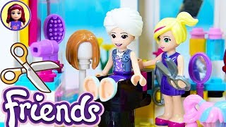 Lego Friends New Hair Style for Emma - Visit to the Hairdresser