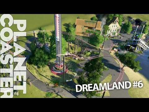 DREAMLAND: Abandoned Theme Park pt 6 - dismantled coaster