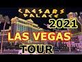 CAESARS PALACE LAS VEGAS 2021 WALKTHROUGH & ROOM TOUR (Palace Tower)