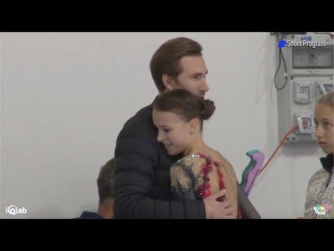 Анна Щербакова / Anna Shcherbakova -  Lombardia Trophy 2019 Ladies SP September 13, 2019