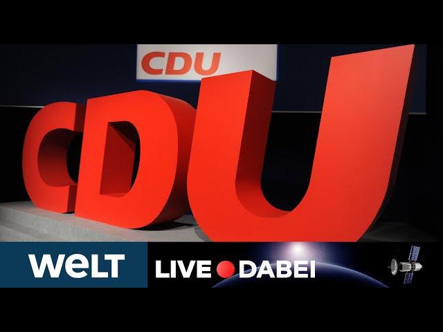 LIVE DABEI: Auftakt zum CDU-Wahlparteitag mit Reden von Annegret Kramp-Karrenbauer, Merkel und Söder