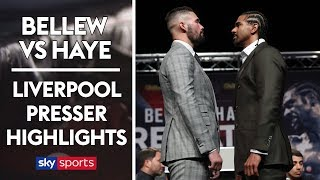 INTENSE! Tony Bellew vs David Haye | Liverpool Press Conference Highlights
