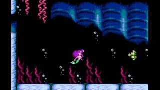 "Let's Play ""The Naked Little Mermaid"" (NES/Patch) 05 [Finale]: Finaler Sex-Appeal"