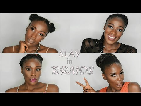 Dope HairStyles for all Hair Types (Summer Braids)