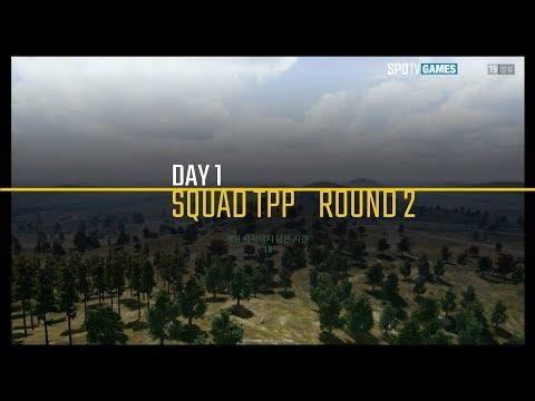 Day 1 Group A,B - TPP Round 2 [18.02.22] PUBG Warfare Masters pilot