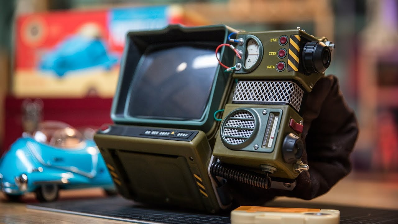 A 3D Printable Pip-Boy 3000 (with Pictures) - Instructables | 720x1280