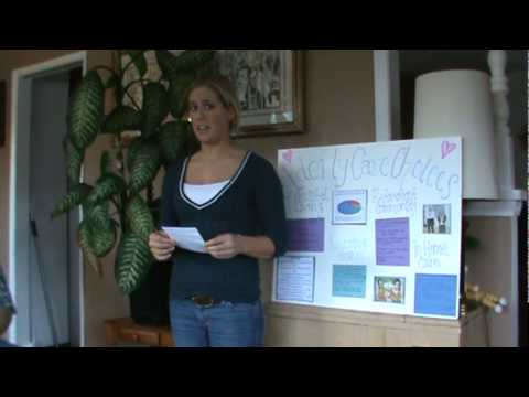 Sara Schroeder Visual Aide Speech.MPG