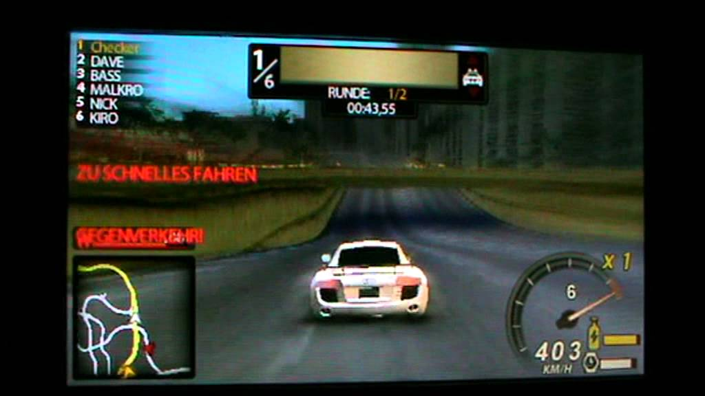 Need for Speed - Undercover (Europe) ISO PSP ISOs