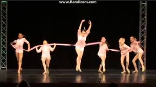 Dance Moms (Living With The Ribbon dance) to the music of I