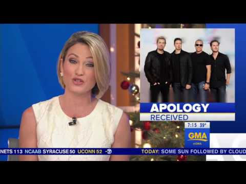 Canadian Police Apologize to Nickelback for Using Their Music as Punishment
