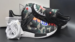 Adidas Pharrell Williams NMD X Bape