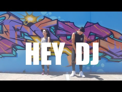 Hey DJ (remix) By CNCO, Meghan Trainor, Sean Paul - Choreography - Zumba - Poppy - Dance & Fitness