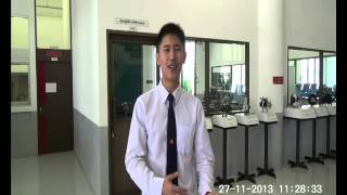 Automotive Engineering Program Student interview