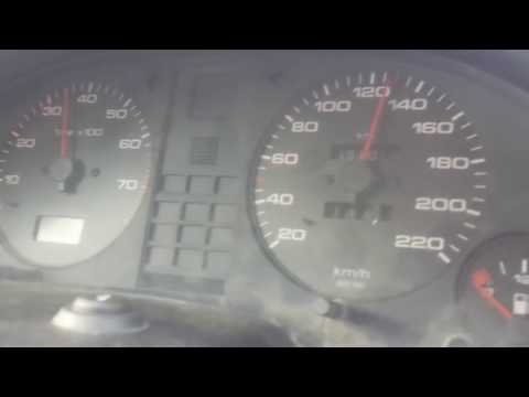 Разгон AUDI 80 B4 2.0 карбюратор 073 90 160км ч